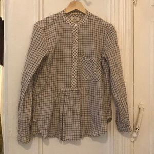 Artizia Wilfred checked shirt size small